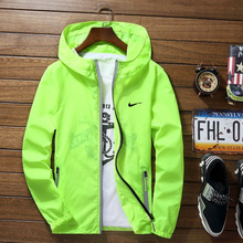 Sport Outdoor Cycling Thin Coat Jackets Man Loose Windproof 7XL Waterproof Candy