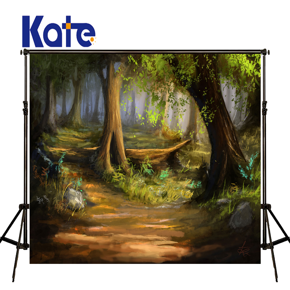 Kate Spring Photography Backdrops Forest Background Scenic Photography Backdrops Large Size Seamless Photo сумка kate spade new york wkru2816 kate spade hanna