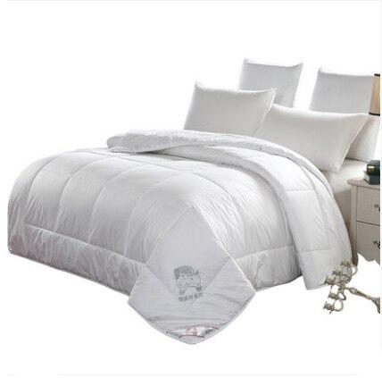 220x240cm 100% A+ Australian Wool Comforter Winter Quilt Sheep Hair Blanket Comforters Quilted top capa edredones blanco futon
