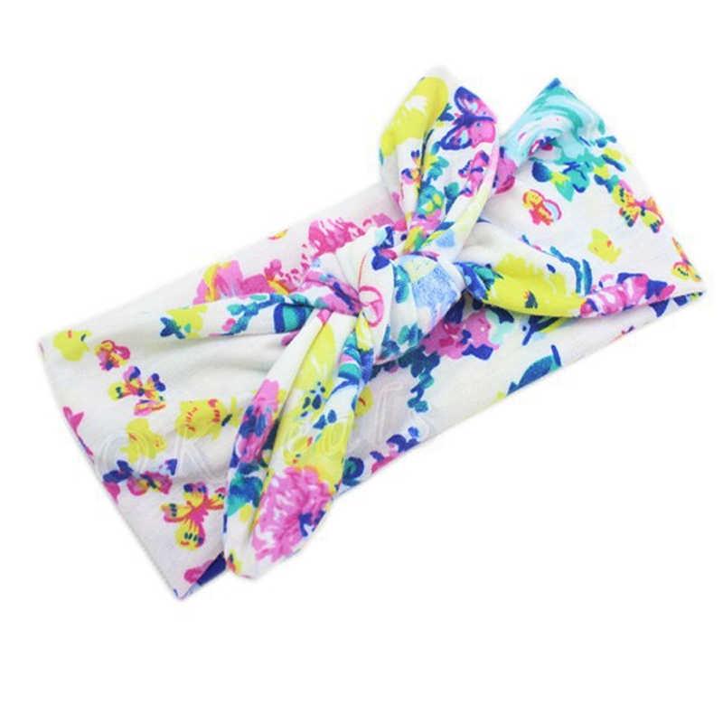 ดอกไม้แถบคาดศีรษะ hairband เด็กกระต่ายผมอุปกรณ์เสริมสาวทารกแรกเกิด headbands เด็ก Bow Knot headwear ดอกไม้