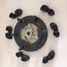 Авто Воздушный Компрессор ac концентратор сцепления+ резина для 5SE09C 5SL12C 5SEU12C 6SEU14C 6SEU17C 7SEU17C для VW AUDI BMW SKODA SEAT