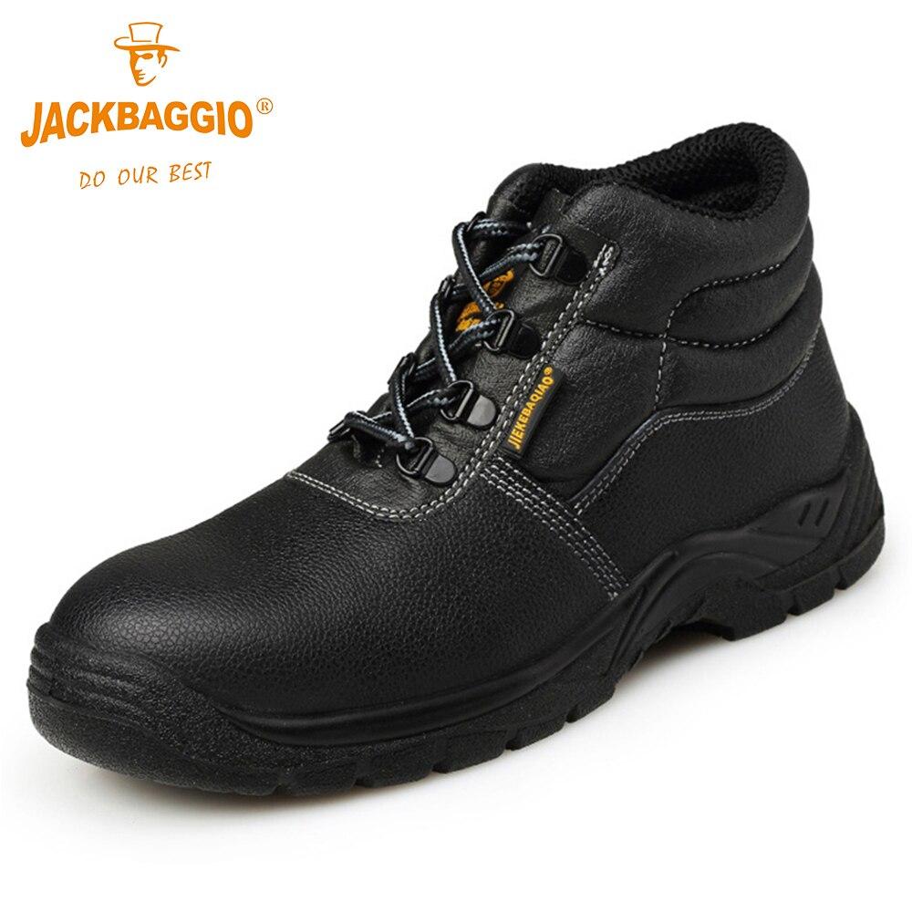 2018 Новый военной работы, мужская обувь, противоскользящие рабочая обувь, дышащий светоотражающие проколов Бизнес обувь.