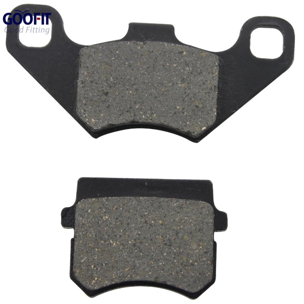 все цены на  GOOFIT Disc Brake Pad for 50cc 70cc 90cc 110cc 125cc ATV Go Kart Quad Bikes Dune Buggy 4 Wheeler C029-016  онлайн