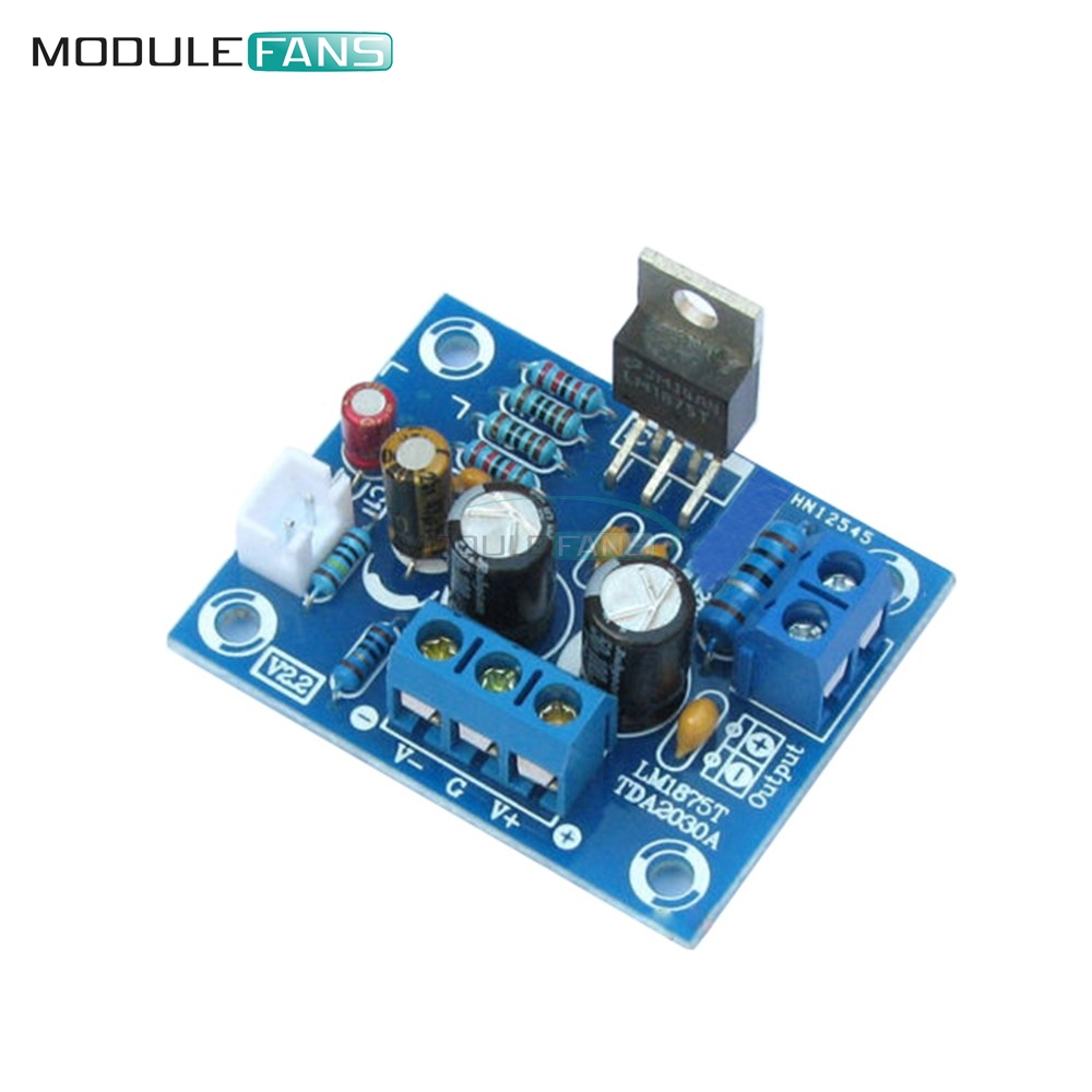 20W HIFI Mono Channel LM1875T Stereo Audio Amplifier Board ...