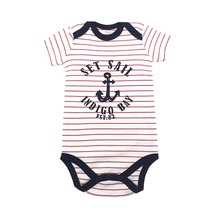 newborn baby bodysuits short sleevele clothes O-neck 0-24M Jumpsuit 100%Cotton clothing Infant sets