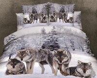 2017 3D boutique 100% cotton tiger leopard lion bedding set 150 cm (5 ft)  180 cm  200 cm (6 ft) bed  welcome to buy!|lion bedding set|bedding set|lion bedding -