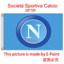 Italy Napoli FC decoration Flag A 3ft*5ft (150cm*90cm)