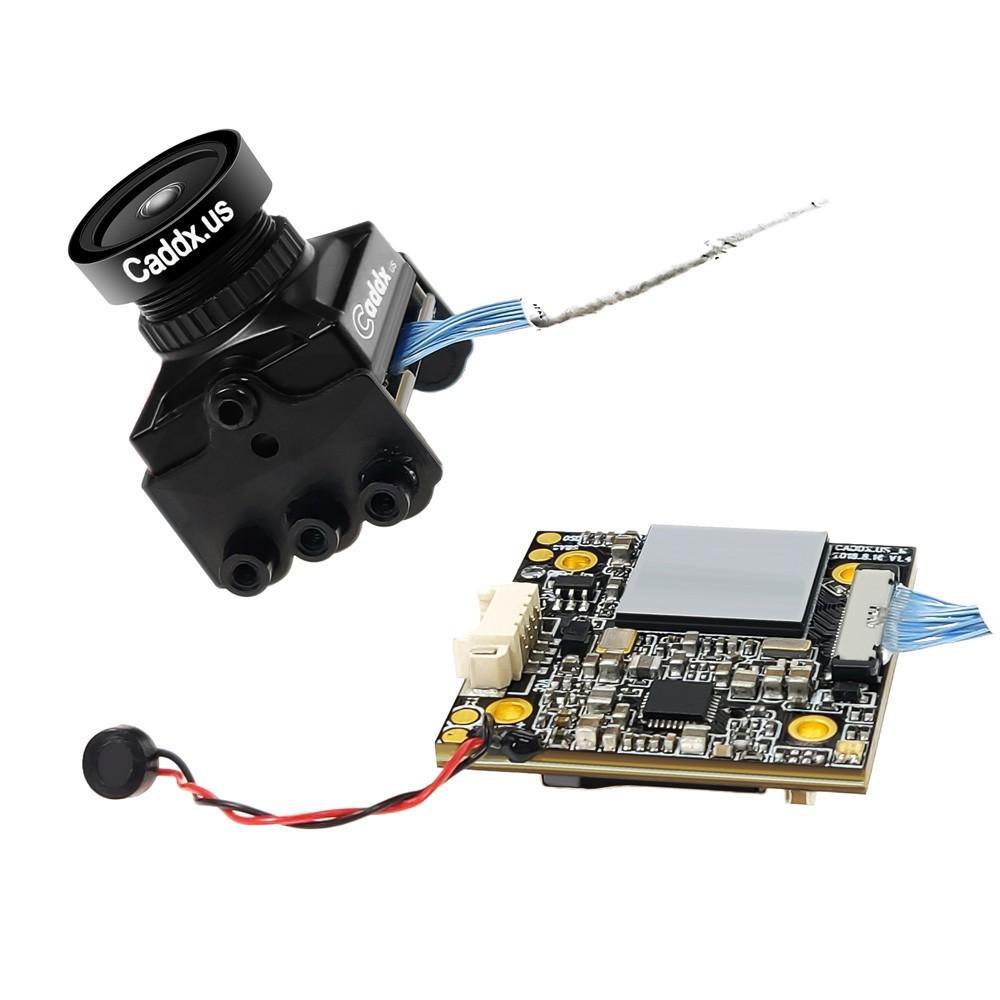 Nowy ulepszony Caddx żółw V2 1080 P 800TVL kamera HD FPV wbudowane menu ekranowe FPV kamera akcji dla RC Drone multicoptera wyścigi w Części i akcesoria od Zabawki i hobby na  Grupa 3