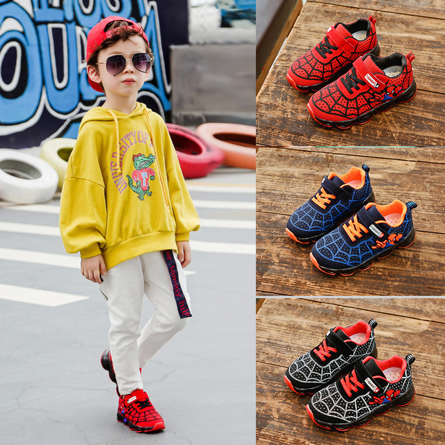 Spider Layer  Casual Kids sneakers for Boys and Girls