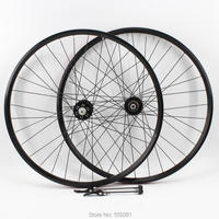 Newest Red Mountain Bike Aluminum Alloy 6 Bearing Disc Brake Hubs Clincher Rim Bicycle Wheelset MTB