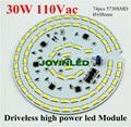 Envío libre 2015 nuevamente 2700lm 110Vac 120Vac lámpara de techo led sin conductor regulable de luz de alta Bahía 30 W módulo PCB