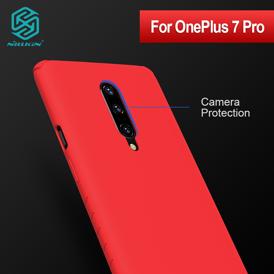 NILLKIN one plus 7 pro case cover Silicone Smooth Protective Back Cover OnePlus 7 Pro cover oneplus 7pro case 6.67 inch