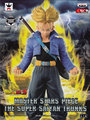 EX SonGoku Dragonball Dragon Ball Z Sagas Super Saiyan Trunks Goku Kakarotto Rábano 24 CM PVC Figura de Acción Original modelo