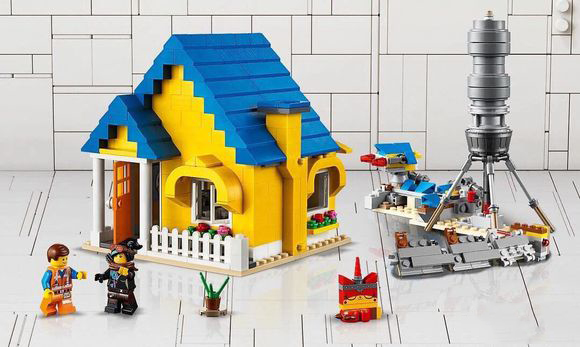 45010 Movies Series Emmets Dream House Rescue Rocket Building Blocks Bricks Toys Compatible With  Movie 245010 Movies Series Emmets Dream House Rescue Rocket Building Blocks Bricks Toys Compatible With  Movie 2
