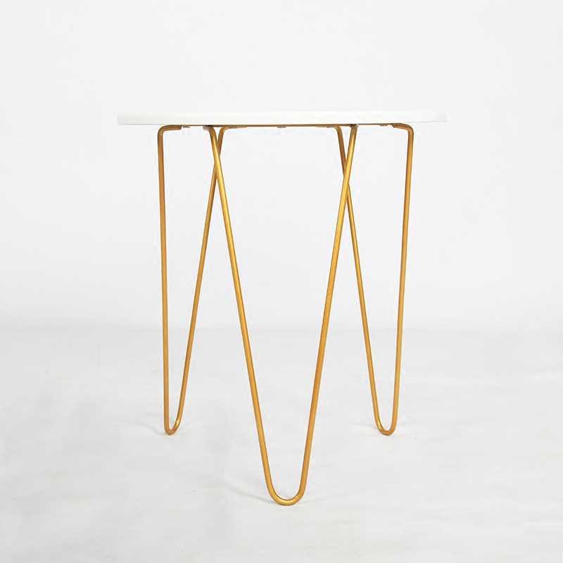 fec8bf491d40 Louis Fashion Coffee Tables Balcony Iron Art Mini Minimalist Modern ...