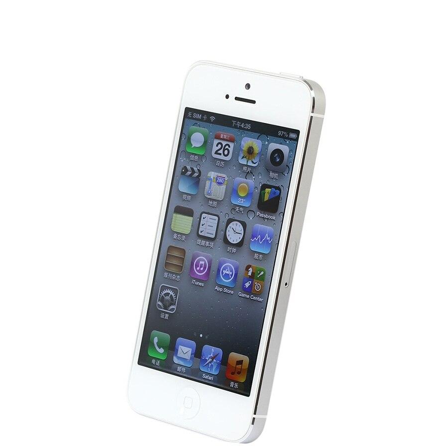Débloqué Original iPhone 5 16 GB/32 GB/64 GB ROM double-core 3G 4.0 pouces écran 8MP caméra iCloud WIFI GPS IOS OS téléphones portables - 3