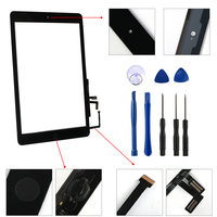 replacement home button New for iPad Air 1 iPad 5 Touch Screen Digitizer and Home Button Front Glass Display Touch Panel Replacement A1474 A1475 A1476 (4)