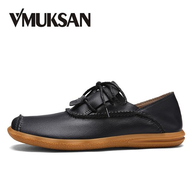 af6aa4b451 VMUKSAN Marca Novo tenis masculino adulto Respirável Outono sapatenis  masculinos casual Preto moda sapatos masculino