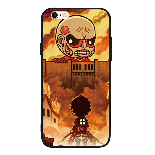 Attack On Titan case Cover For iphone
