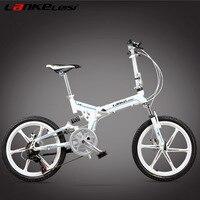 V8 20 дюйм(ов) складной Велосипедный спорт, интегрированный магниевого сплава обод, как дисковые тормоза, одежда высшего качества Скорость Уп