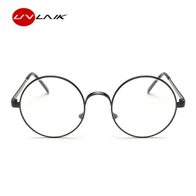 Online Shop UVLAIK Round Spectacle Glasses Frames For Harry Potter ...