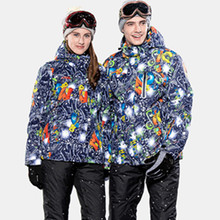 High Experience Winter ski jacket women snowboard jacket men mountain skiing jacket snow waterproof veste ski femme homme