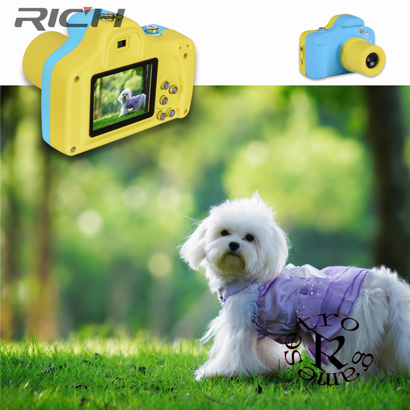 1.5 Inch 2MP 1080P Mini Cam Digital Camera for Kids Baby Cute Cartoon Multifunction Toy  ...