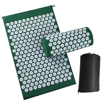 Body Relaxing Acupressure Massage Mat with Pillow for Neck and Back pain