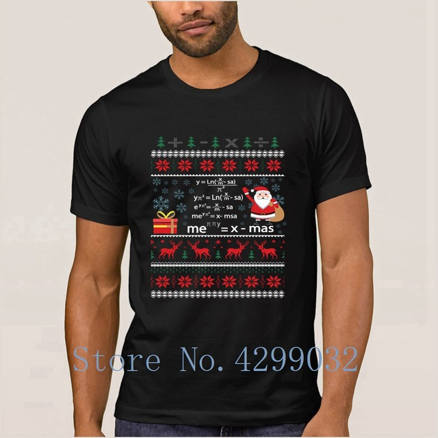 funny pi math equation christmas sweater teacher tee shirt kawaii crazy men t shirt streetwear male