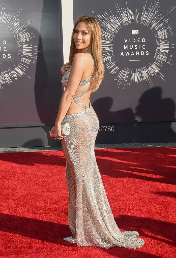 Jennifer lopez vestido que muda de cor