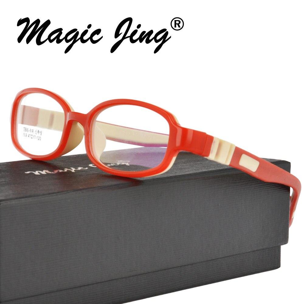 Optical Children Glasses Frame TR90 Silicone Glasses Children Flexible Protective Kids Glasses Diopter Eyeglasses Rubber 509