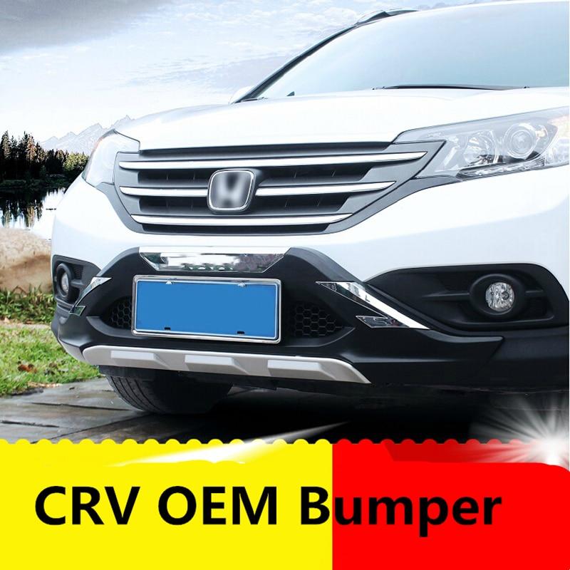 Für Honda CRV 2010-2011 Aluminium Legierung Vorne und Hinten Stoßschutz-gleiter-platte Schutz Auto styling zubehör