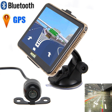 7″ 8GB Car GPS Navigation SAT NAV Bluetooth AV-IN AU/EU Maps+Reverse Camera gps with reverse camera bluetooth reversing camera