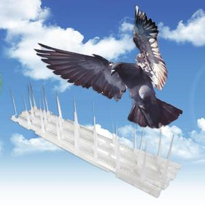 Image 2 - 3pcs Bird Repeller Not Hurting Birds Plastic Blender For Pigeons Small Anti Bird Anti Dove Spikes Pest Control