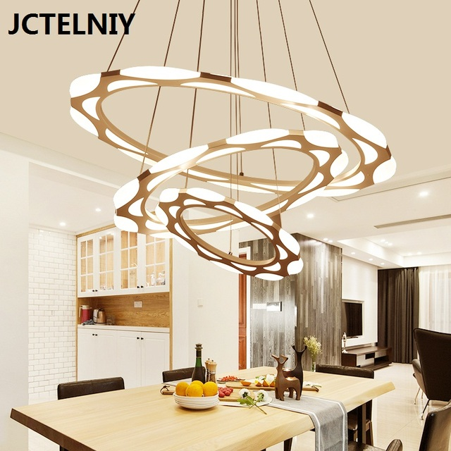 Luxury modern chandelier led circle ring chandelier light for living luxury modern chandelier led circle ring chandelier light for living room acrylic lustre chandelier lighting white aloadofball Image collections