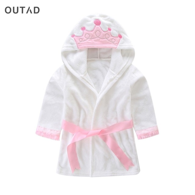 OUTAD Adorable and Cute Baby's Children Sleepwear Pajama Baby Boys Girls Cotton flannel Pyjamas Soft Clothing