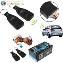 Universal Car Auto Vehículo Sistema de Entrada Sin Llave de Bloqueo Central de la Puerta de Control Remoto Kit Car Styling Accesorios