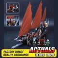 Nueva Lepin 16018 Genuino de El señor de los anillos de Serie El Fantasma Barco Pirata Conjunto De Bloques De Construcción Ladrillos Juguetes 79008