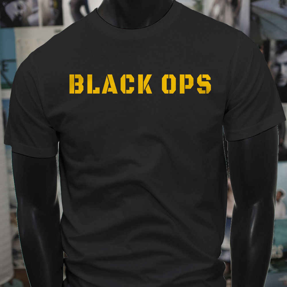 OPS  MILITARY  SPECIAL FORCES USA Mens  T-Shirt  harajuku  streetwear  funny t shirts