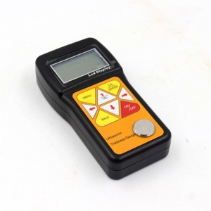 Image 3 - Ultrasonic Thickness Gauge 0.75~600mm Portable Digital LCD Sheet Metal Pipes Glass Thickness Tester Sound Velocity Meter JT160