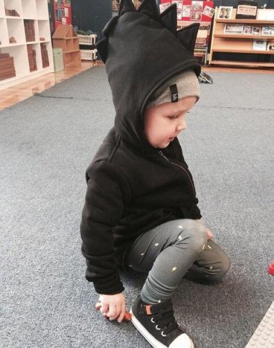 XMAS 2018 Unisex Kids Baby Boys Girls Toddlers Hoodies Cartoon Tracksuit Children Clothing Set Cute Sweatshirts 4