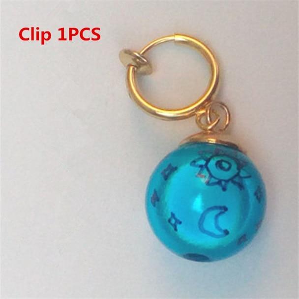 1Pcs The Seven Deadly Sins Elizabeth Liones Cosplay Earrings//Ear Clip