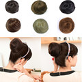 1PC Chignon Hair Styling Synthetic Hair Bun Updos Extension Donut Roller Hair Chignons Bun Hair Chignon For Long HairQ3