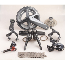 цена на Shimano ULTEGRA R8000 2x11S 22 Speed 50/34T 52/26T 53/39T 170mm 172.5mm 175mm Road Bicycle Groupset Derailleur Kit