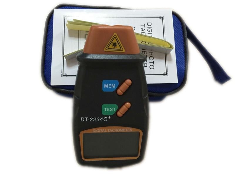 Cyfrowy laserowy obrotomierz 2.5-100000 RPM Elektroniczny obrotomierz - Przyrządy pomiarowe - Zdjęcie 6