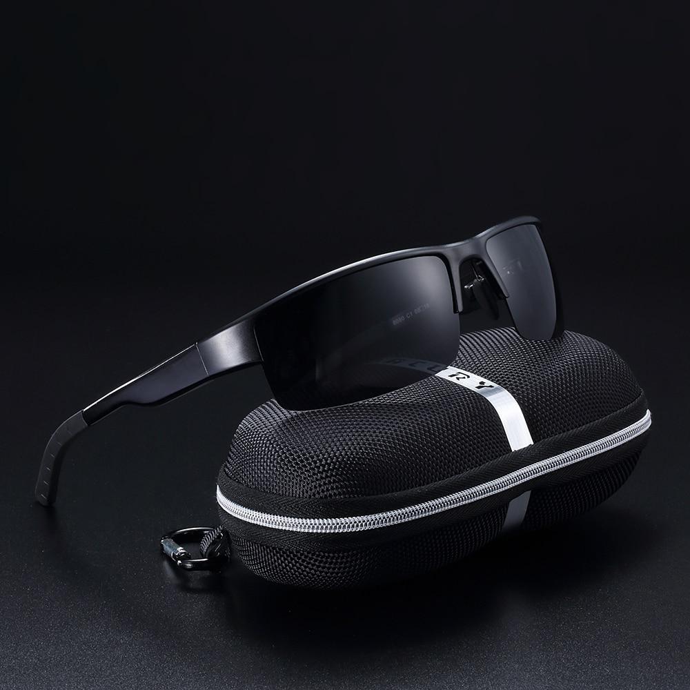 BACURY TAC Lens Aluminum Magnesium Sunglasses Men Polarized Sun glasses for Men Trending Sports Eyewear in Men 39 s Sunglasses from Apparel Accessories