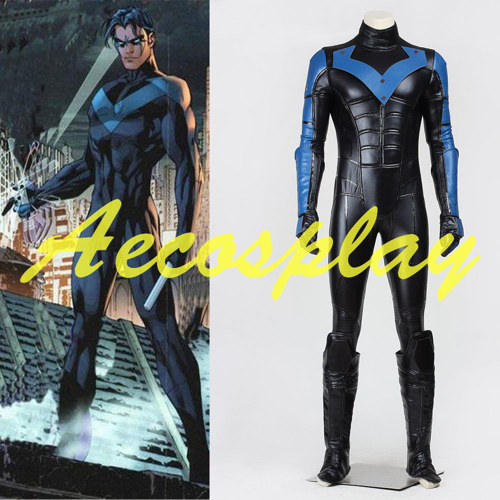 Online Get Cheap Nightwing Cosplay Costume -Aliexpress.com ...