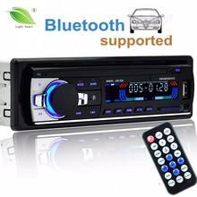 Авторадио 12 В автомобиля Радио Bluetooth 1 din стерео плеер телефон AUX-IN MP3 FM/USB/Радио пульт дистанционного управления для телефона Car Audio