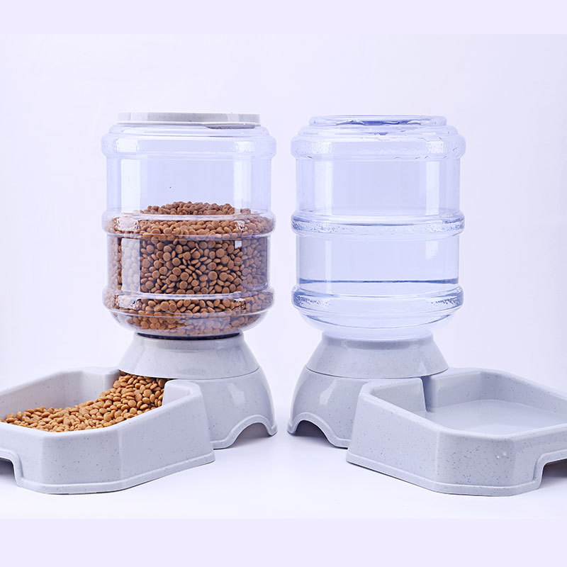 3.8L Home Automatic Pet Feeder Drinking s