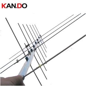 Image 1 - Antena satélite de radioaficionado, antena HAM, antena UV yagi 430 440 143 146MHZ 15dbi, repetidor para aficionados, antena de ganancia de radio bidireccional